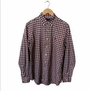 Ralph Lauren button down shirt Tartan plaid Medium